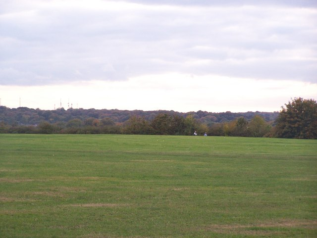 The Events Field in Capstone Country Park - geograph.org.uk - 1014981