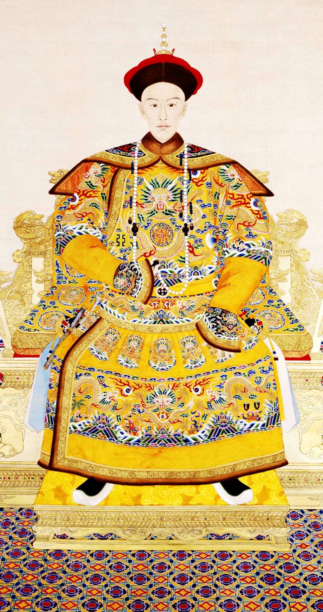 The Chinese Emperor's sittting posture. - General ...