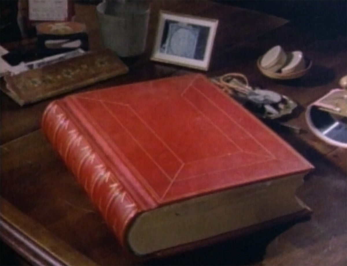 The Red Book, resting on Jung's desk.