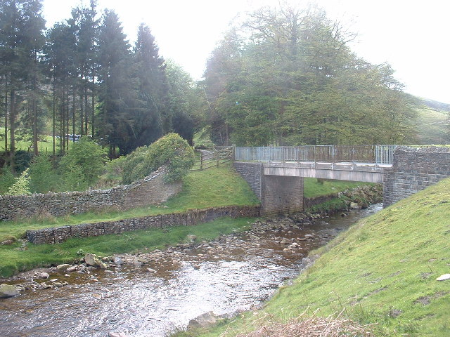 The bridge at Hareden, Trough of Bowland - geograph.org.uk - 69091