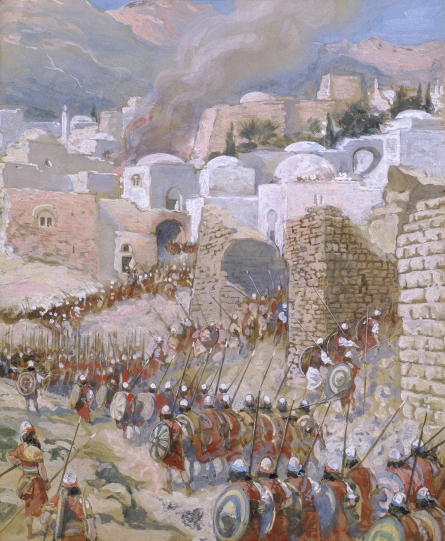 Tissot The Taking of Jericho Science in the Bible: Earthquakes