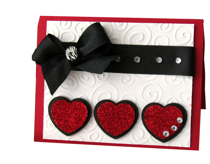 File Triple Heart Handmade Valentine Card Png Wikimedia Commons