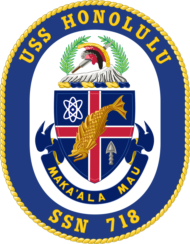USS Honolulu SSN-718 Crest.png