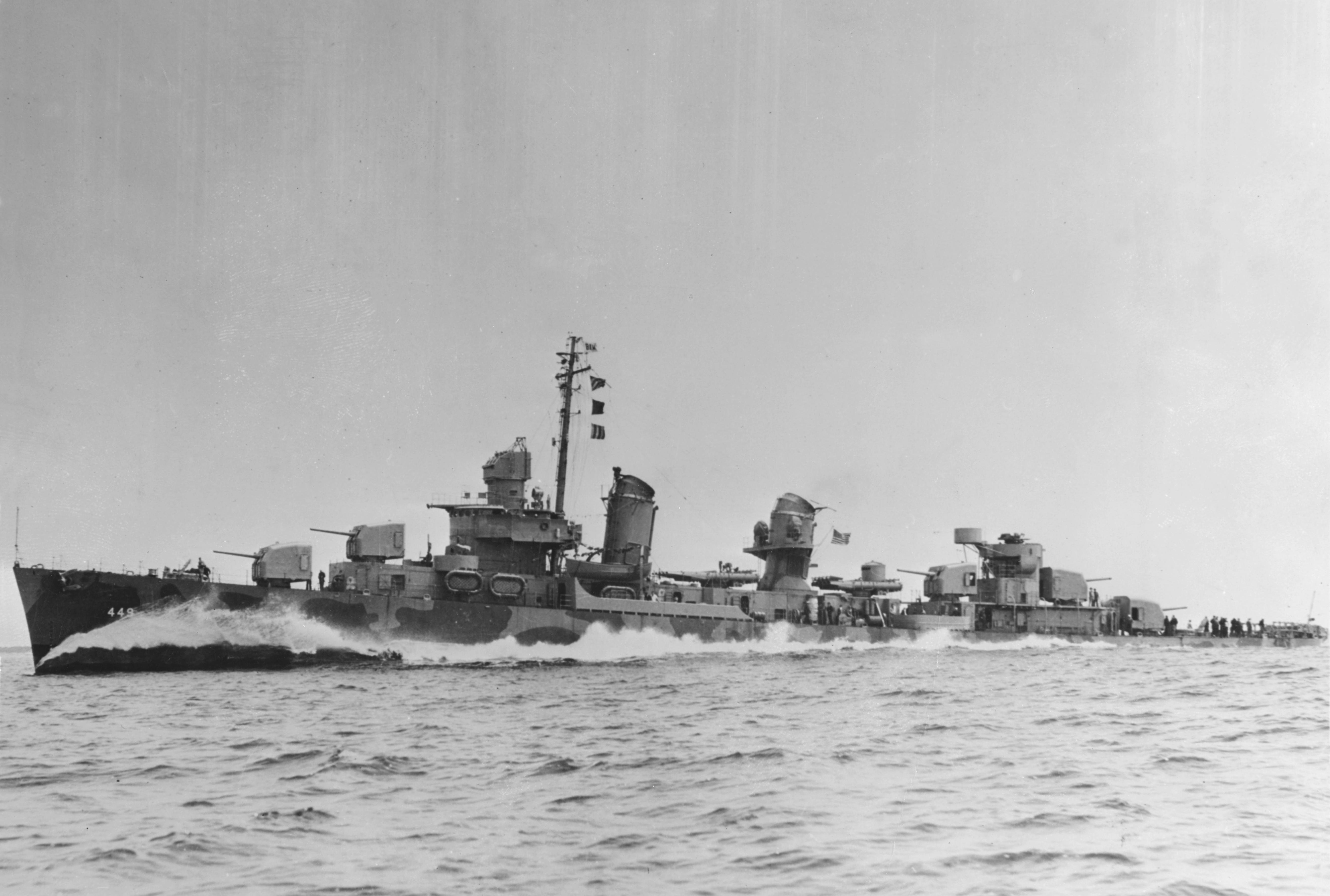 USS Nicholas (DD-449)