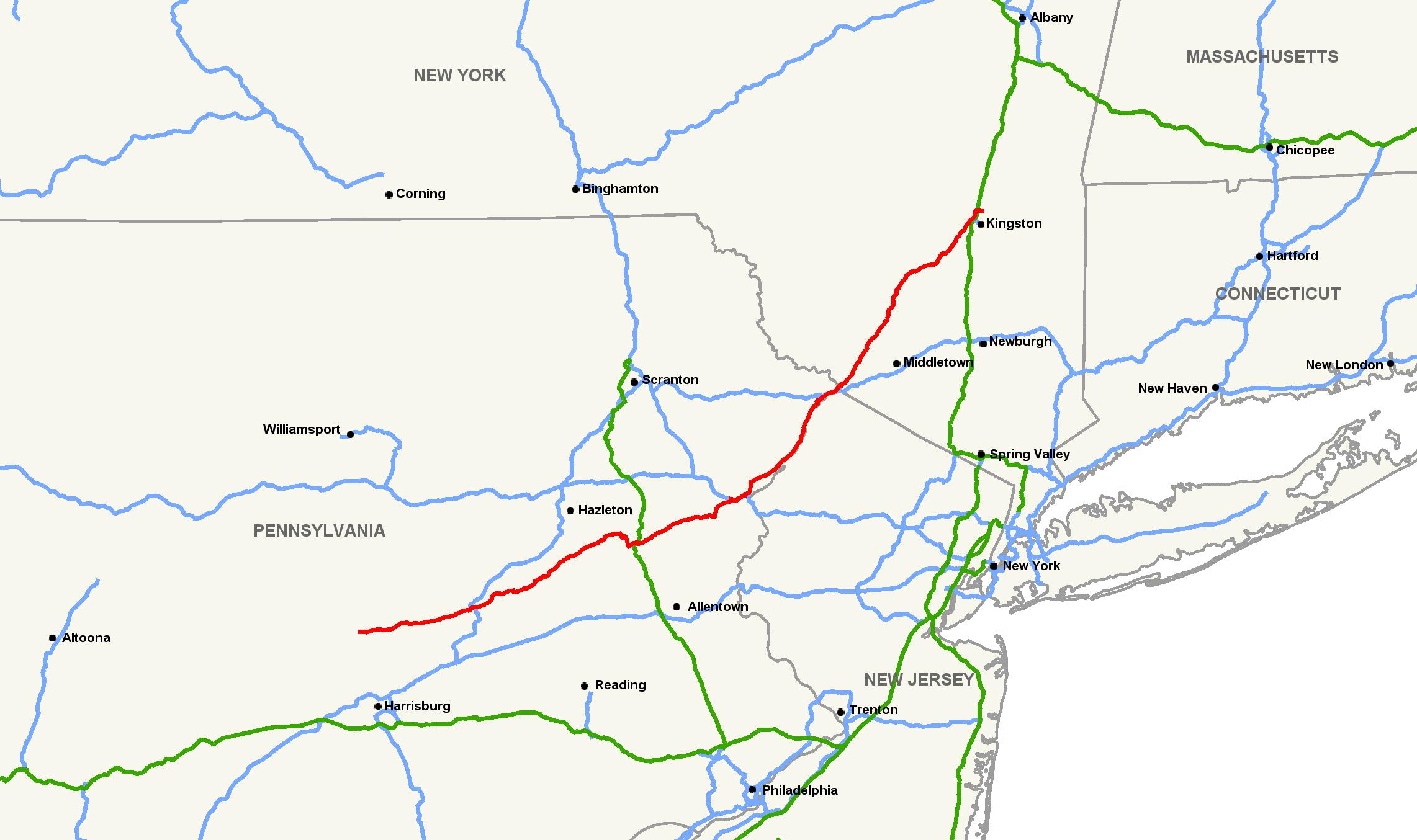 U S  Route 209 - Wikipedia