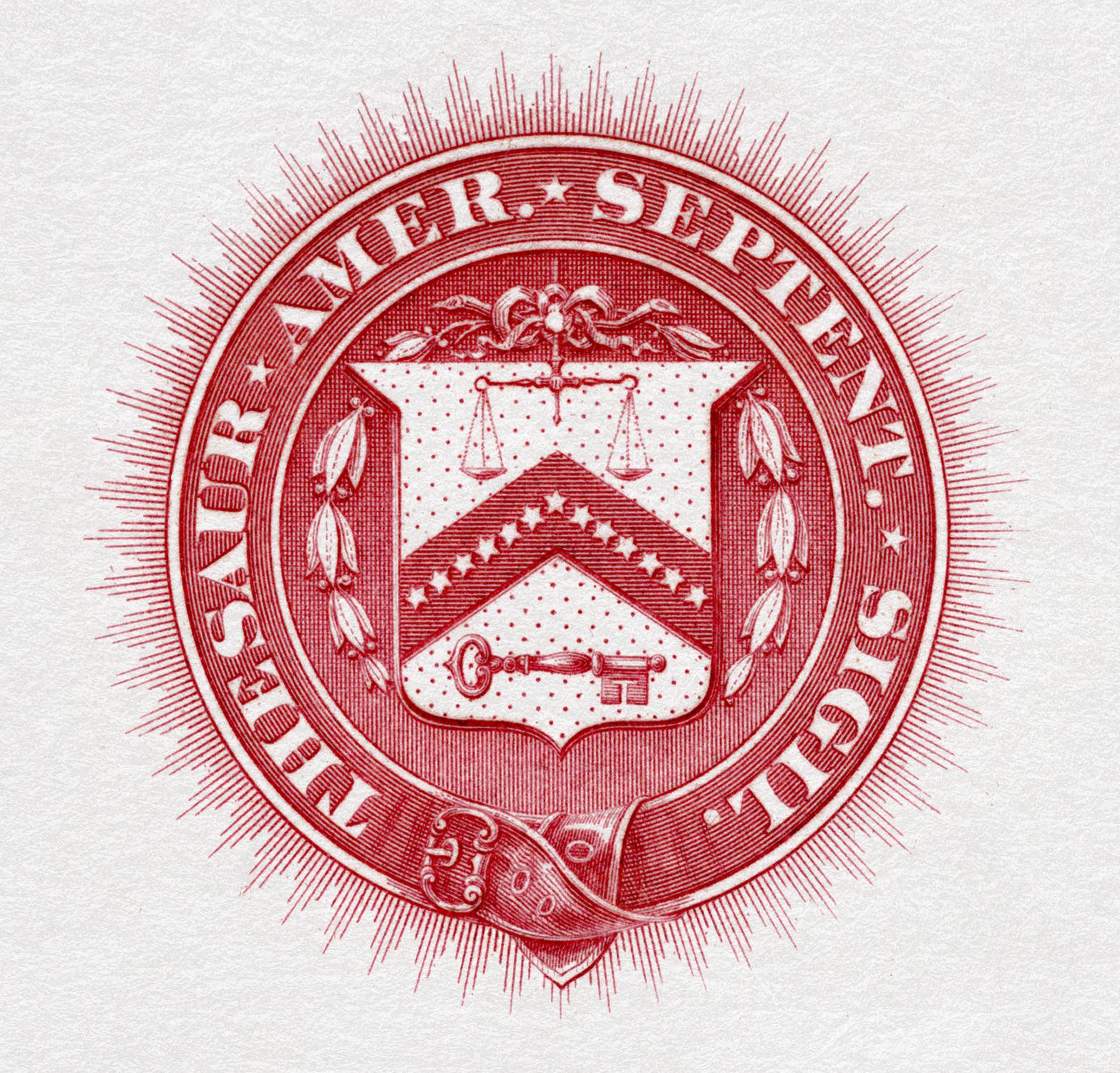 Symbols Of The United States Department Treasury