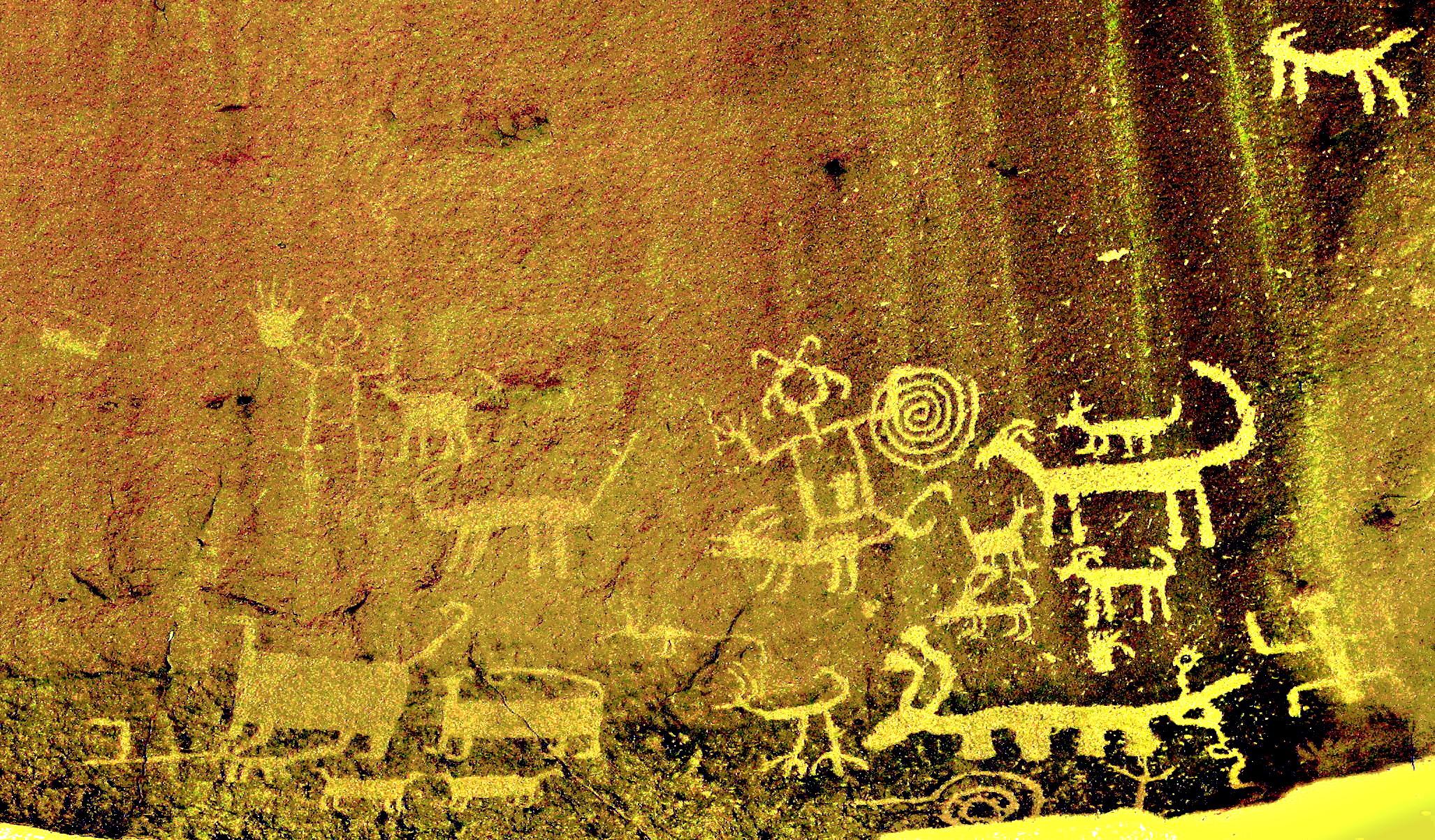 File:Una Vida Chaco Canyon rock art enhanced 2.jpg ...