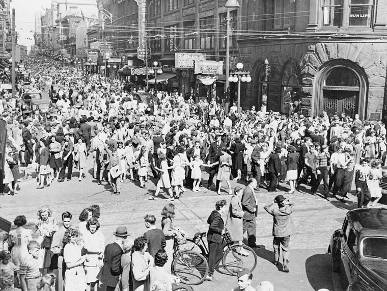VJ Day in San Diego