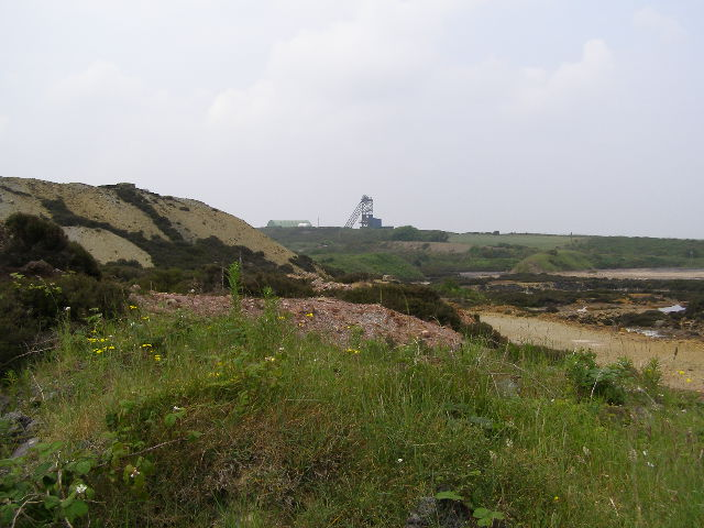 View of modern mine on Parys Mountain - geograph.org.uk - 468723