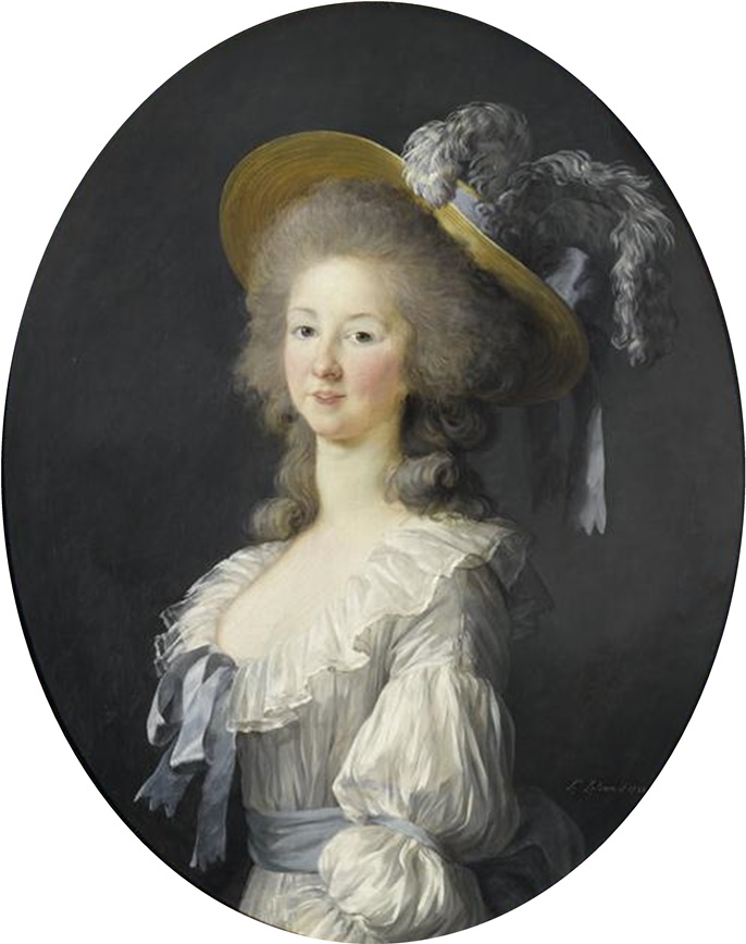 Billedresultat for princesse de lamballe portrait vigée le brun