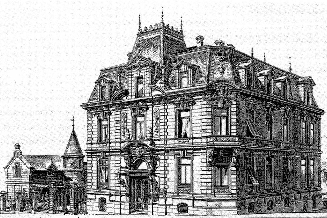 Stuttgarter Architekten file villa kienlin mörikestr 7 9 stuttgart architekten eisenlohr