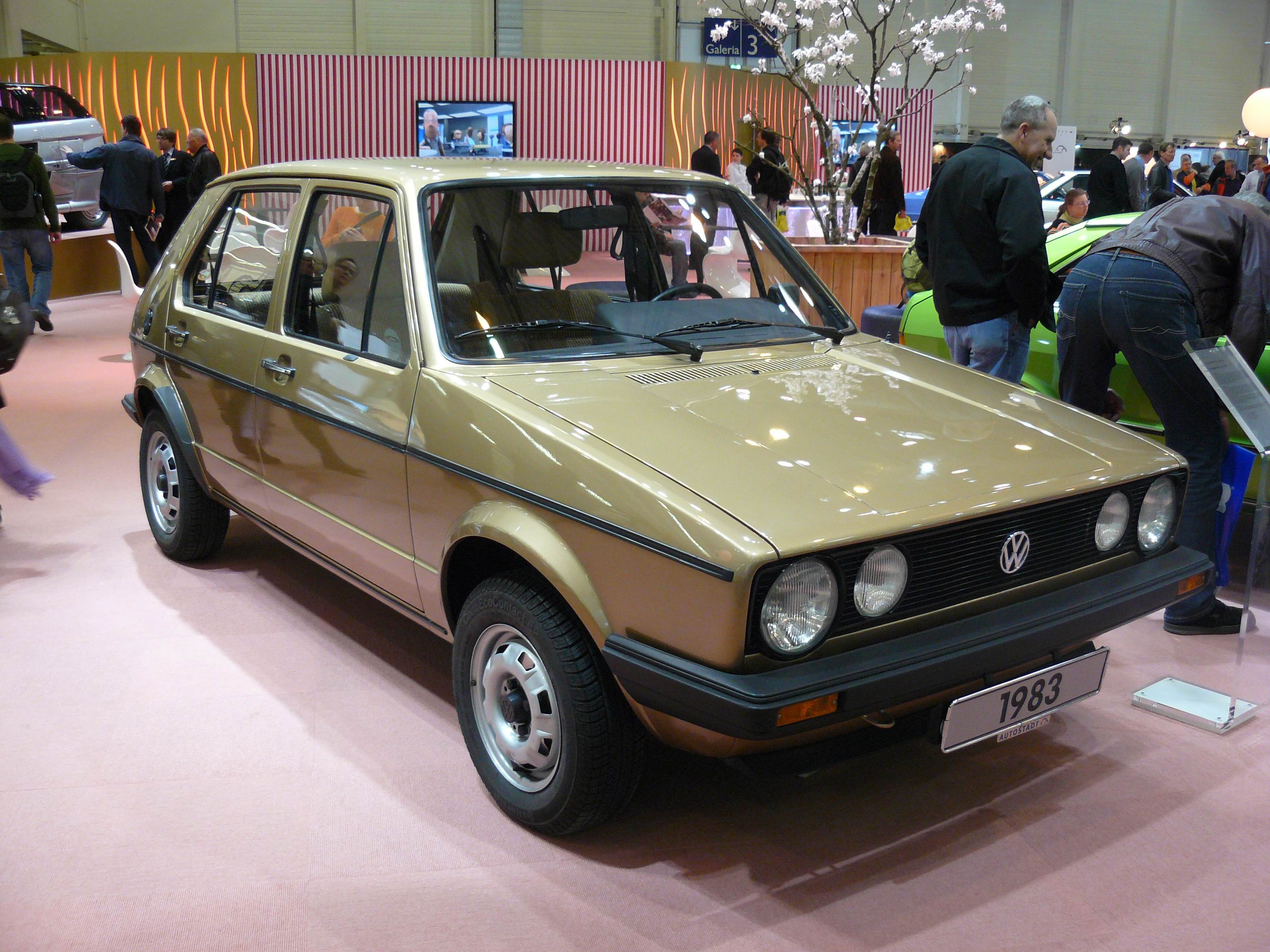 File Volkswagen Golf 1 Lx 1983 Jpg Wikimedia Commons