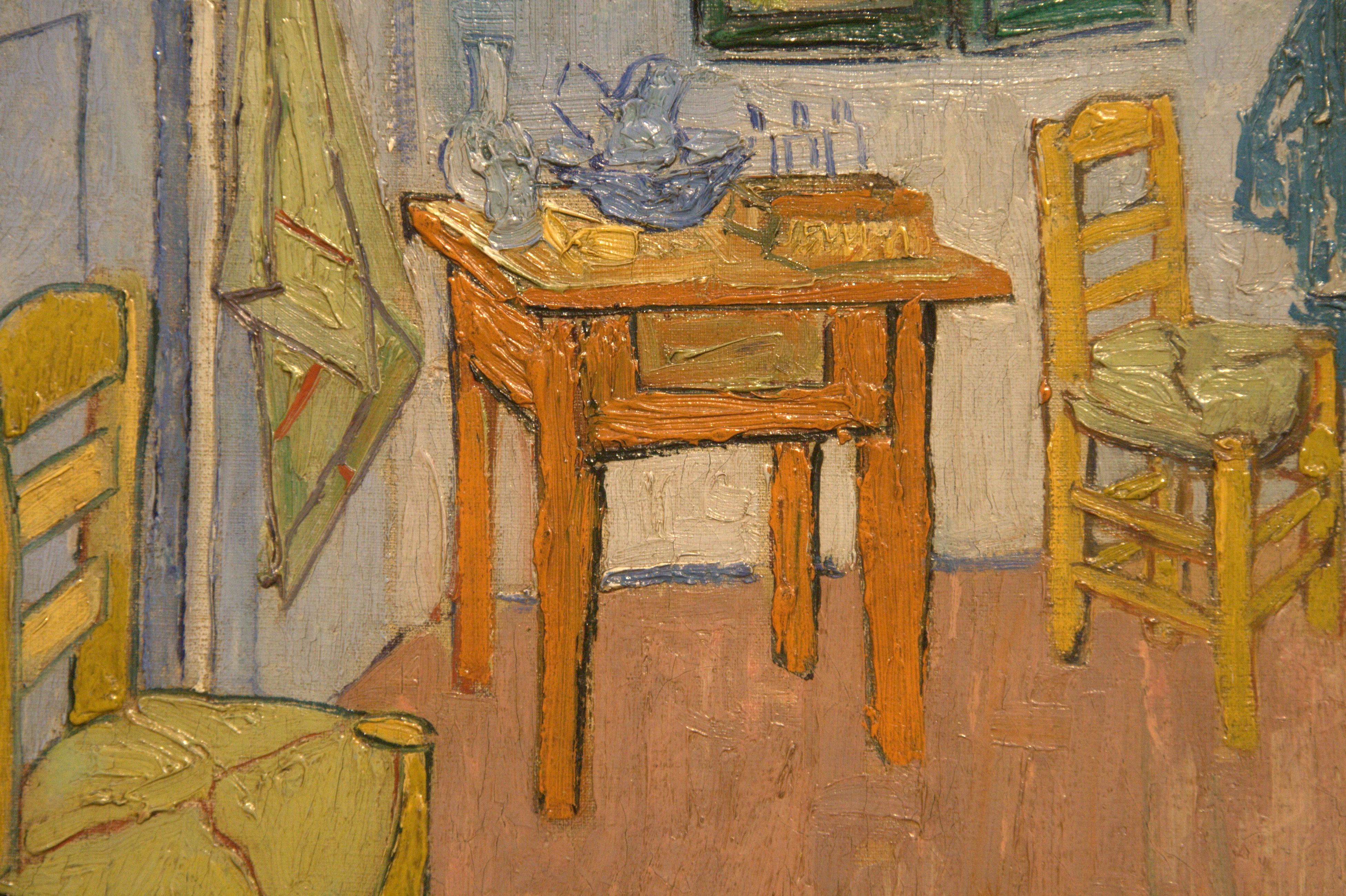 file:wlanl - ronkerkhoven - de slaapkamer (detail 2). vincent van, Deco ideeën