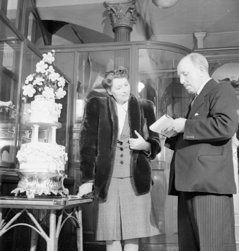 British Royal Wedding Cakes: File:War Bride- Everyday Life In Wartime London, March