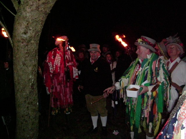 Wassailing at Maplehurst, West Sussex 2