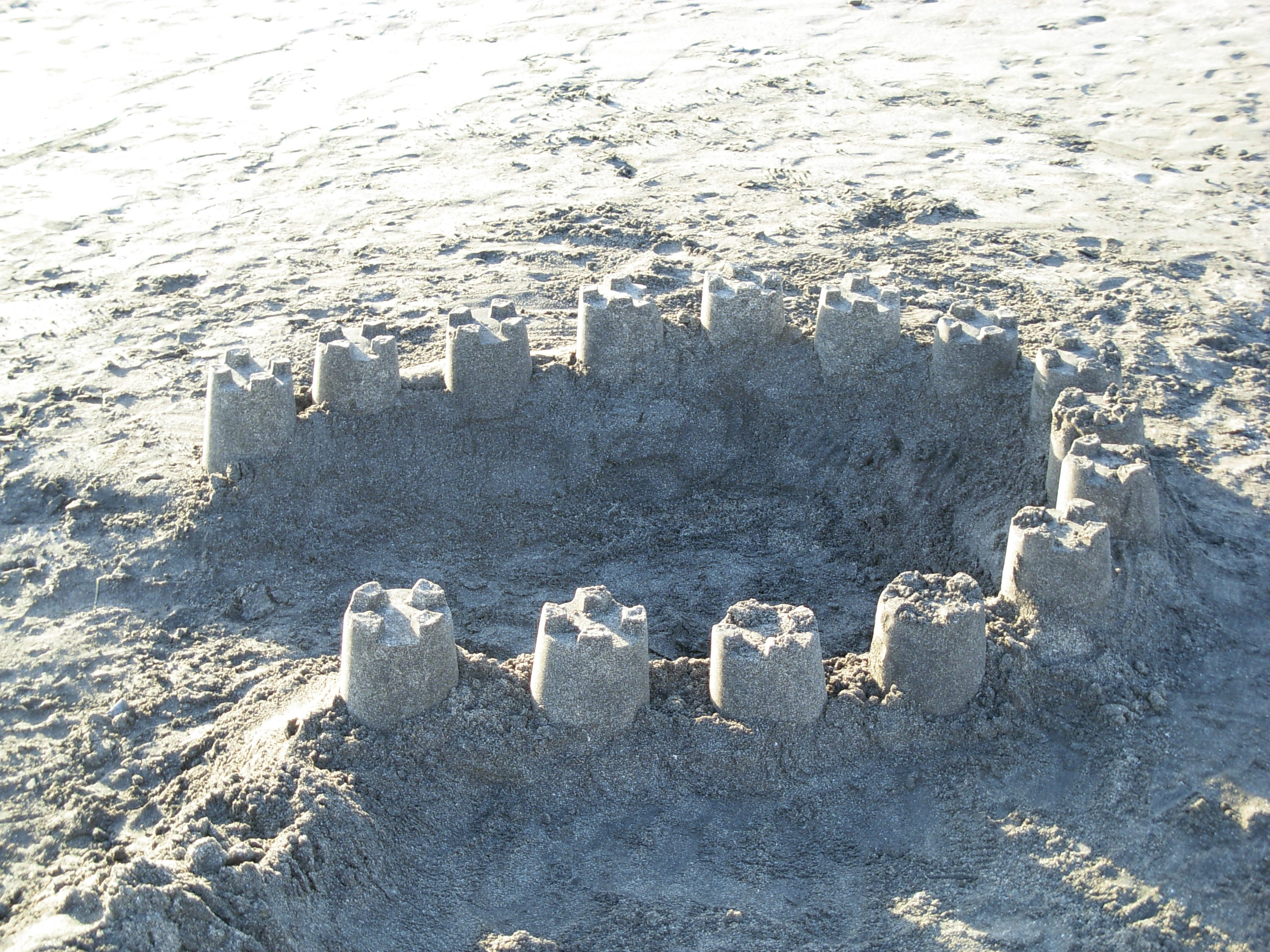 Printable Sand Castle Pattern 9jasports