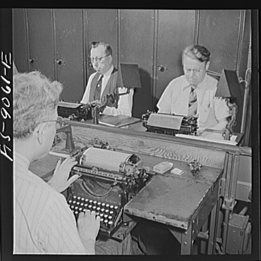 File:Wire room of the New York Times newspaper. 8d22712v.jpg ...