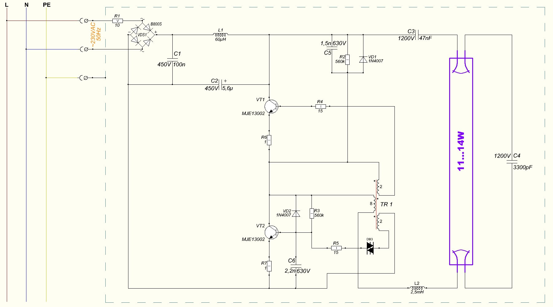 File:Wiring diagram of cheap CFL ballast.JPG