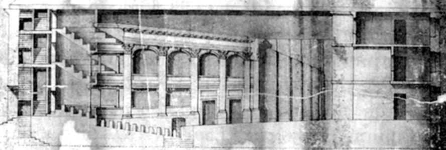 Depiction of Teatro Drury Lane