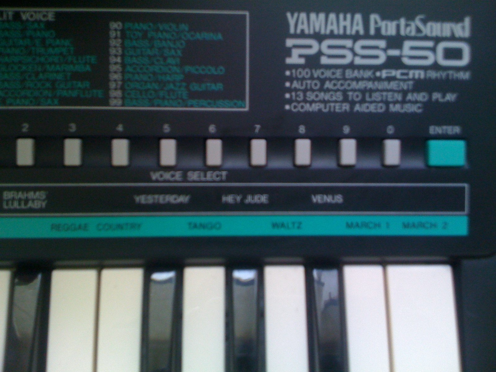 Yamaha Pss  Power Supply