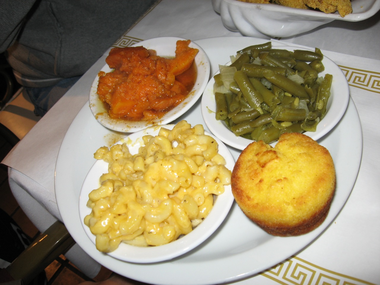 File Yams Green Beans Mac And Cheese And Cornbread Jpg