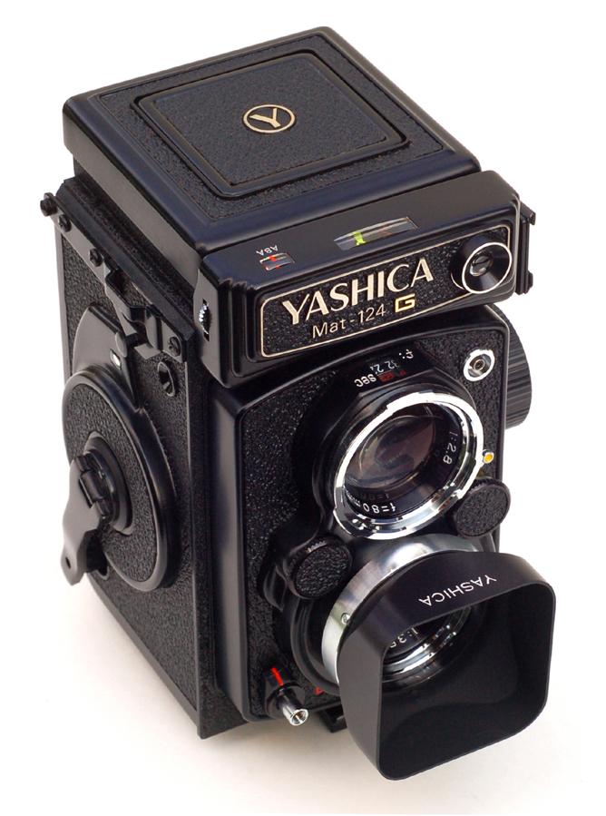 """Képtalálat a következőre: """"Yashicamat 124G"""""""