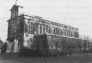 Église de Crusnes en 1980 avant la réfection.