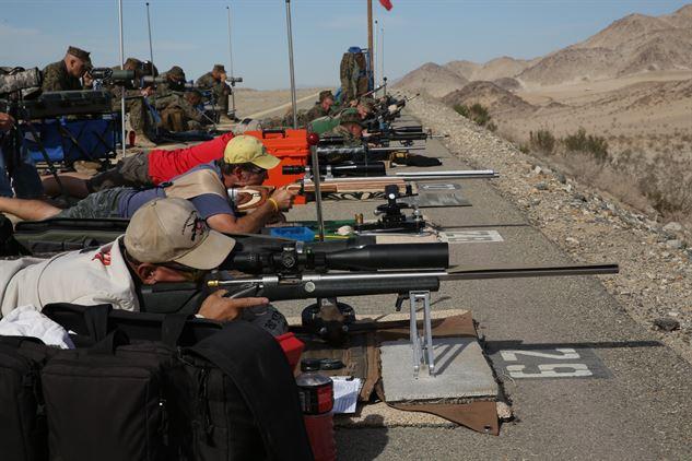Target rifle precision shooting