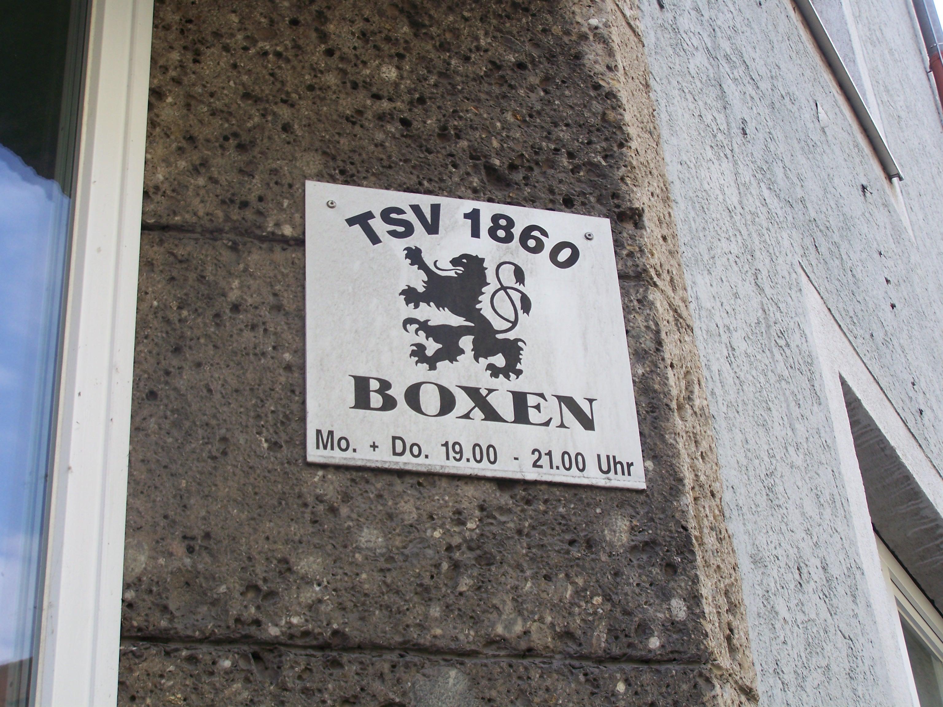 Tsv 1860 Boxen