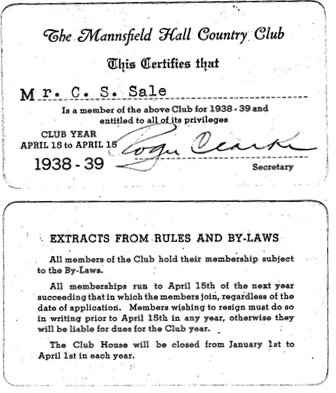 File:1938 Mansfield Hall CC Membership Card  Club Membership Card Template