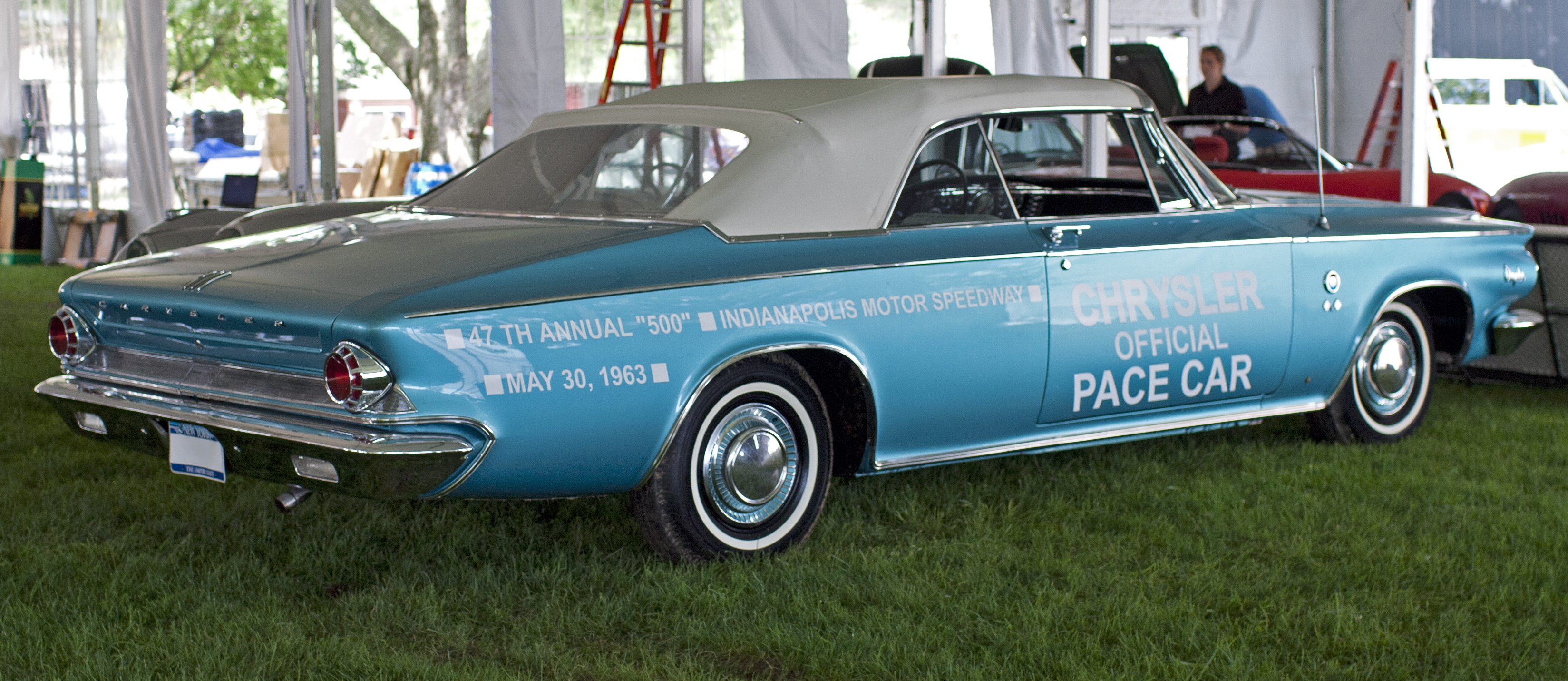 File 1963 Chrysler 300 Quot Pace Setter Quot Convertible Jpg