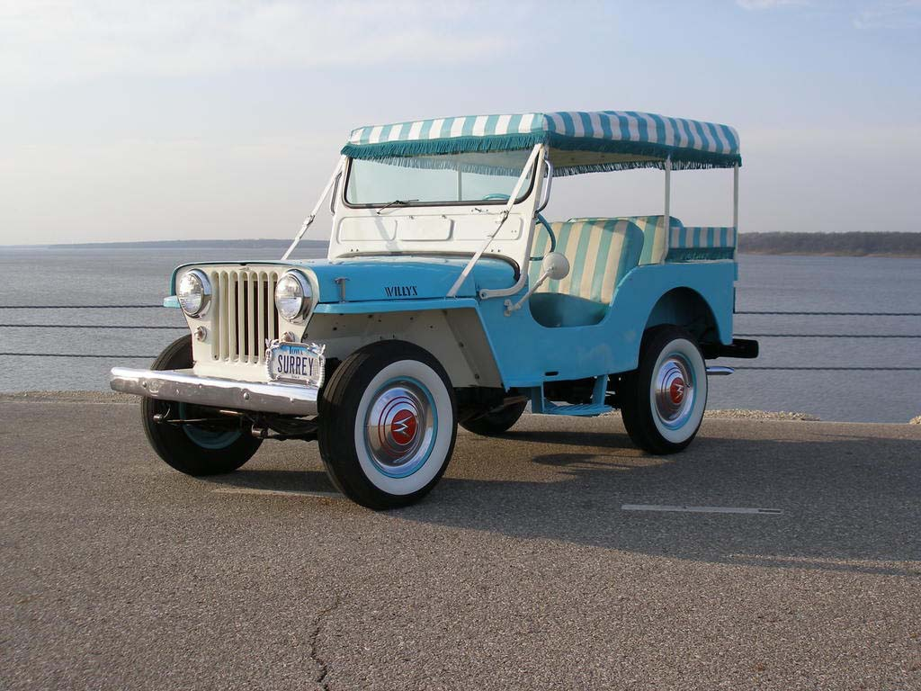 1964_Willys_Jeep_DJ-3A_Surrey_Gala_in_Bl