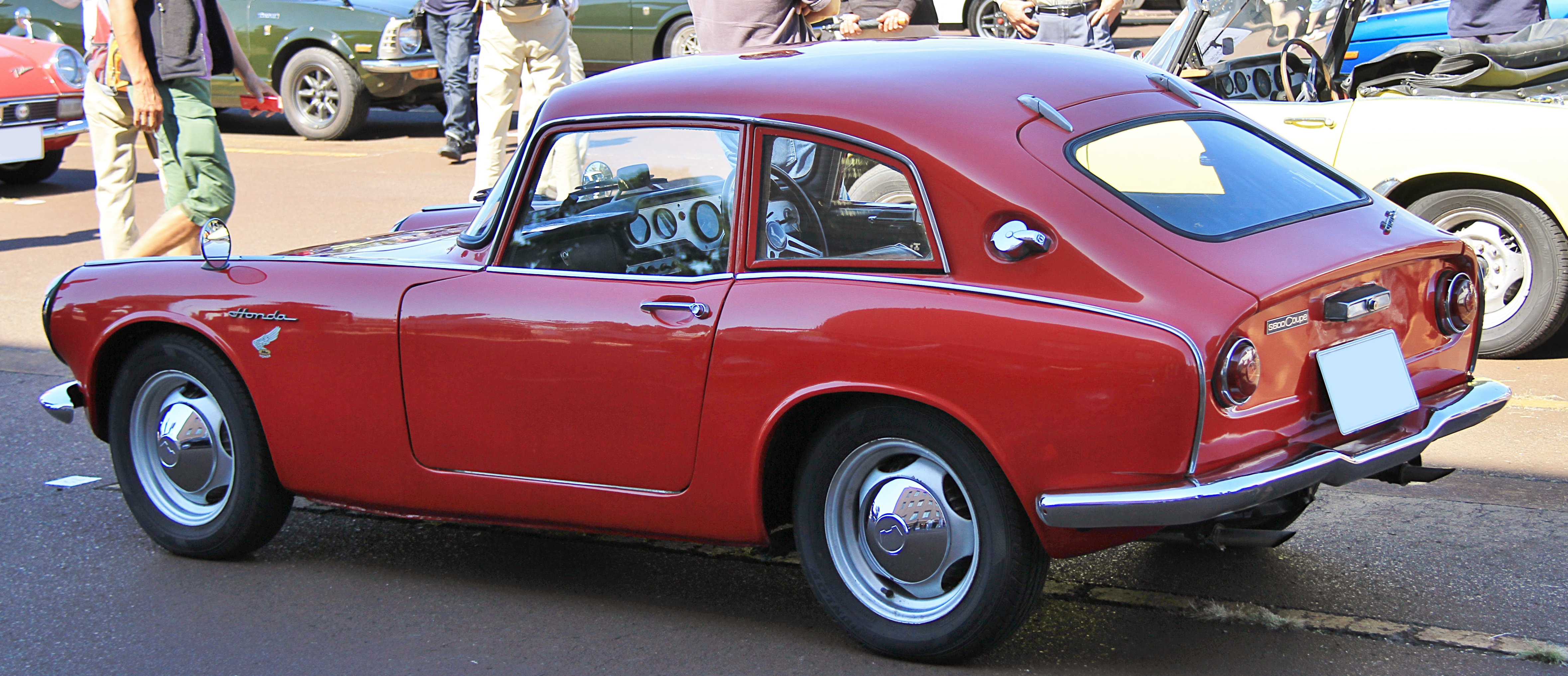 File 1965 Honda S600 Coupe Rear Jpg Wikimedia Commons