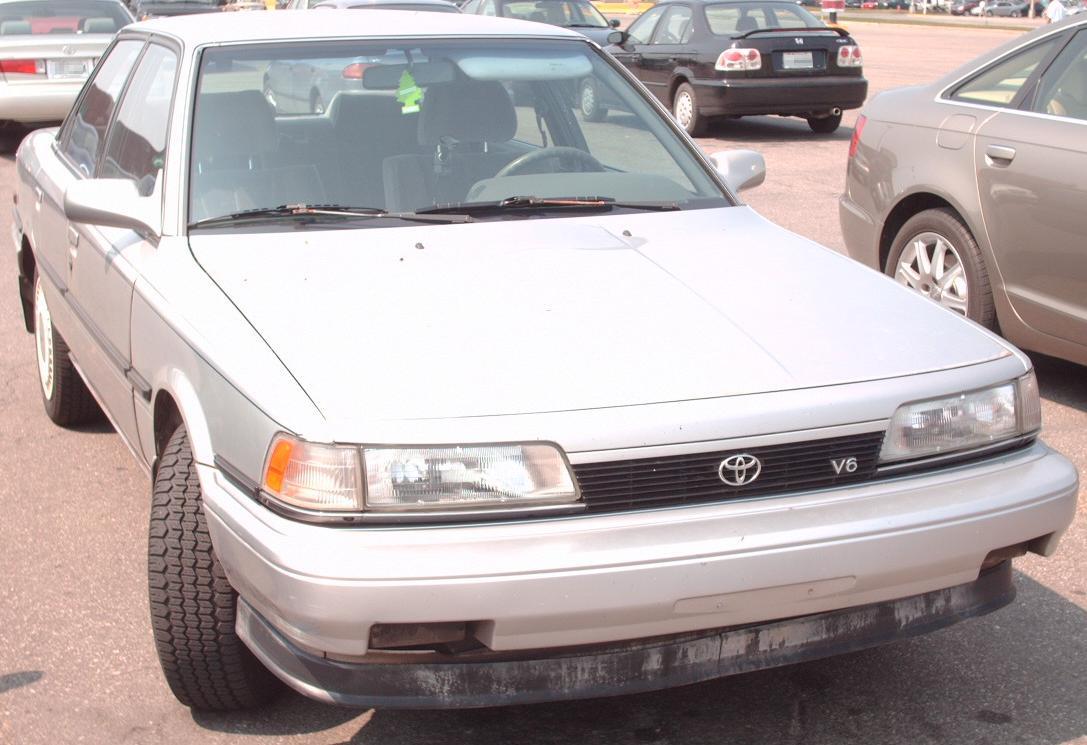 File:1991 Toyota Camry V6.jpg - Wikimedia Commons