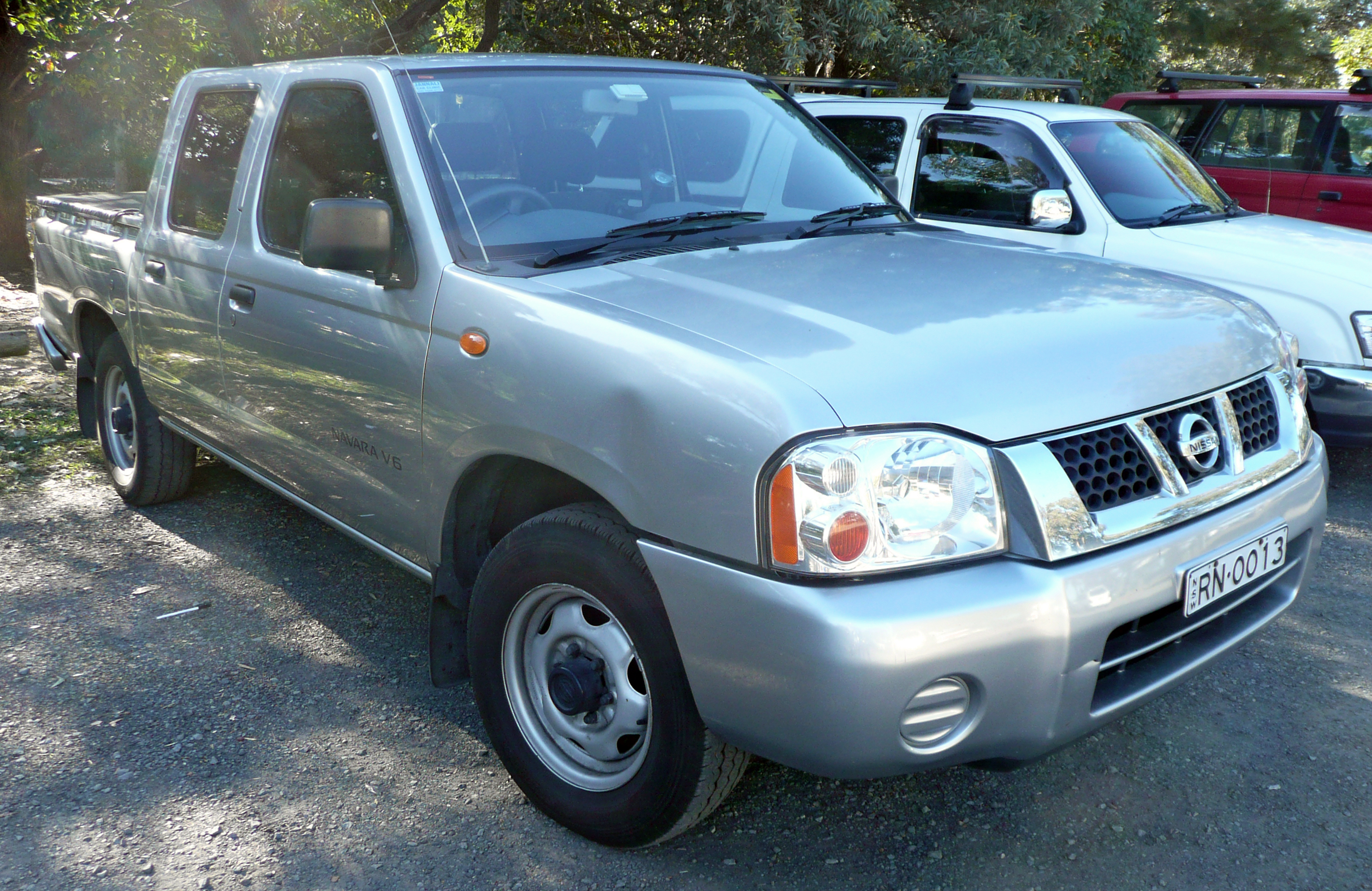 File2001 2005 nissan navara d22 st four door utility 01g file2001 2005 nissan navara d22 st four door utility 01 vanachro Image collections