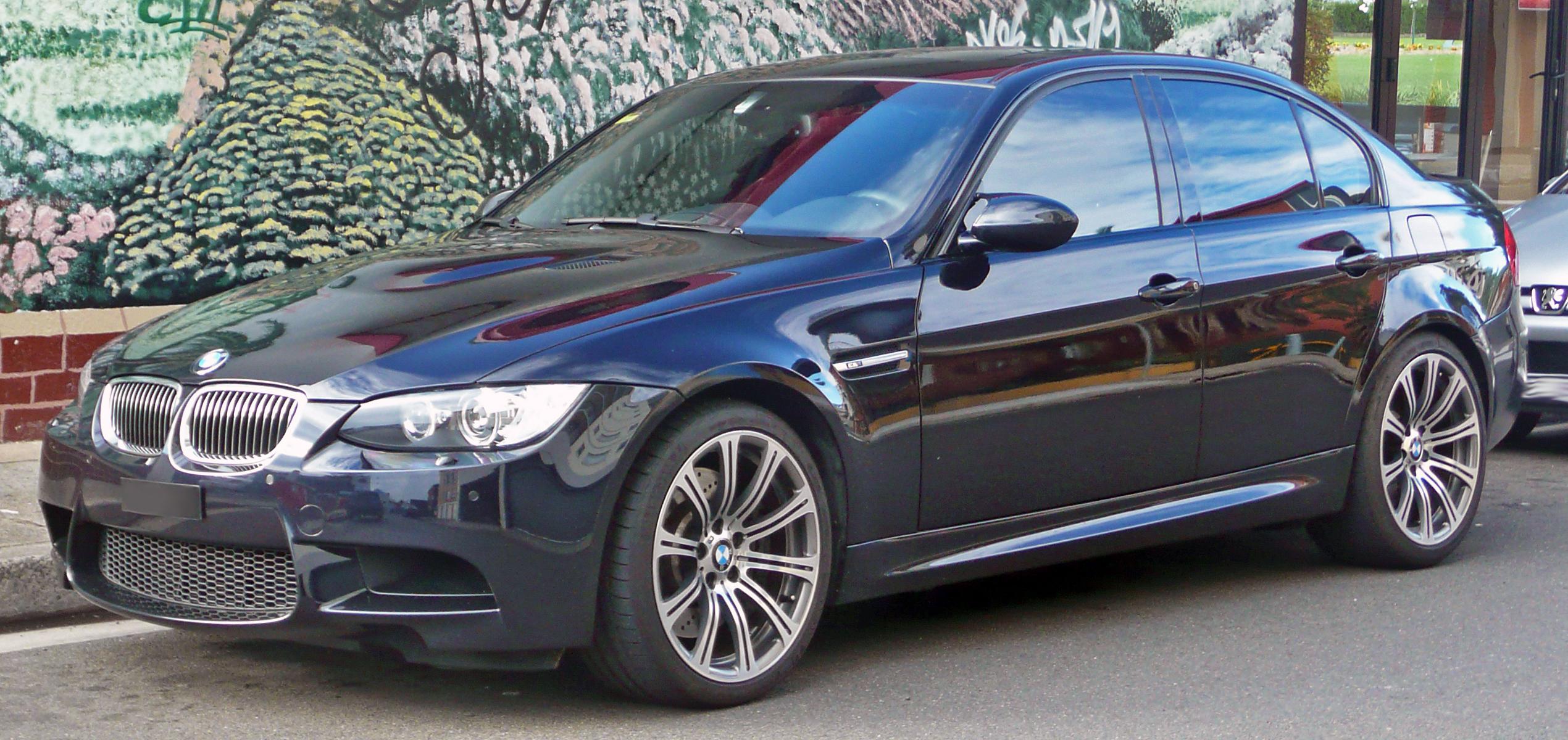 Bmw E90 Wiki >> File:2008-2010 BMW M3 (E90) sedan 01.jpg - Wikimedia Commons
