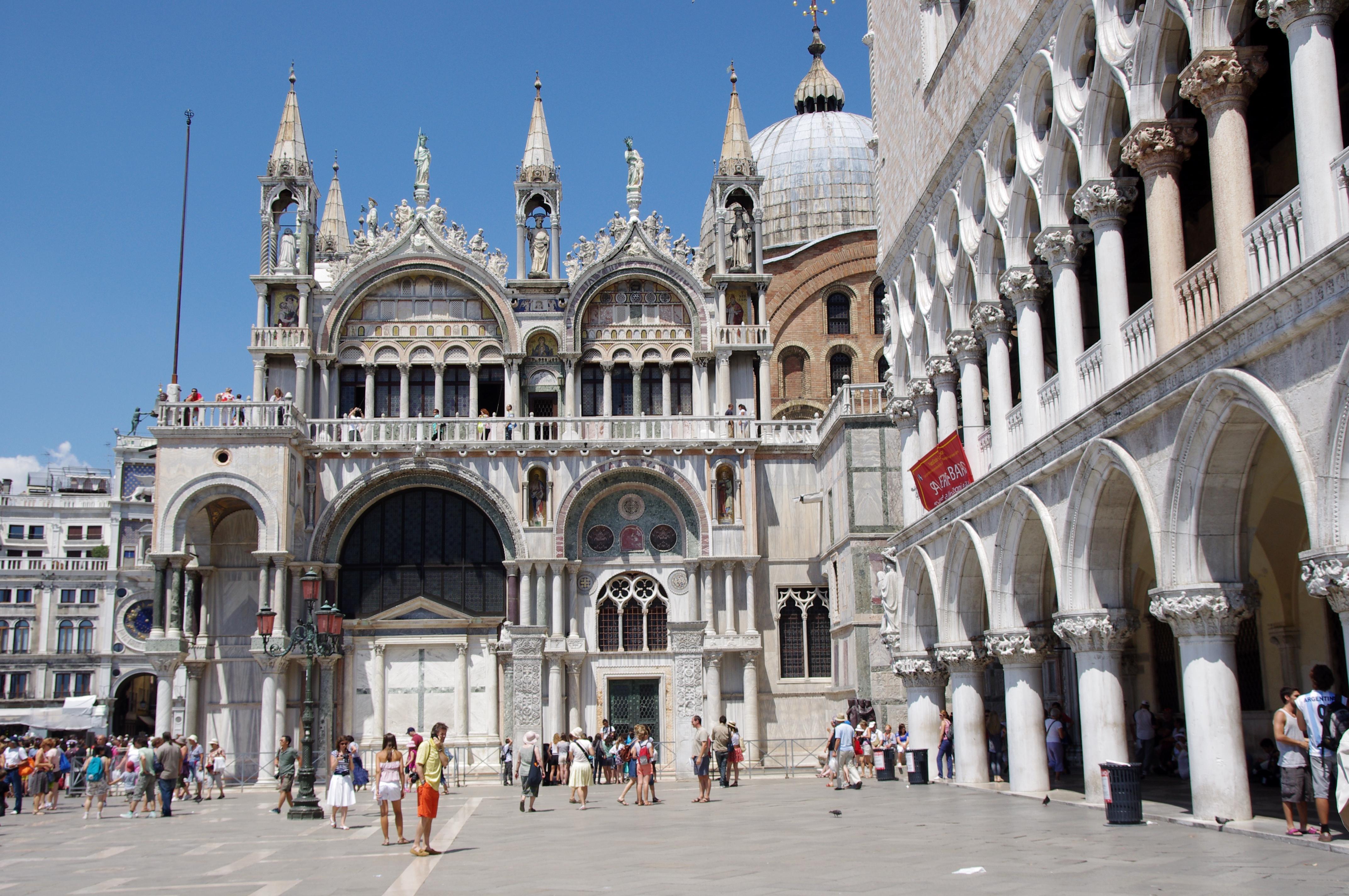 File 20110721 venice basilica di san marco for Esterno basilica di san marco