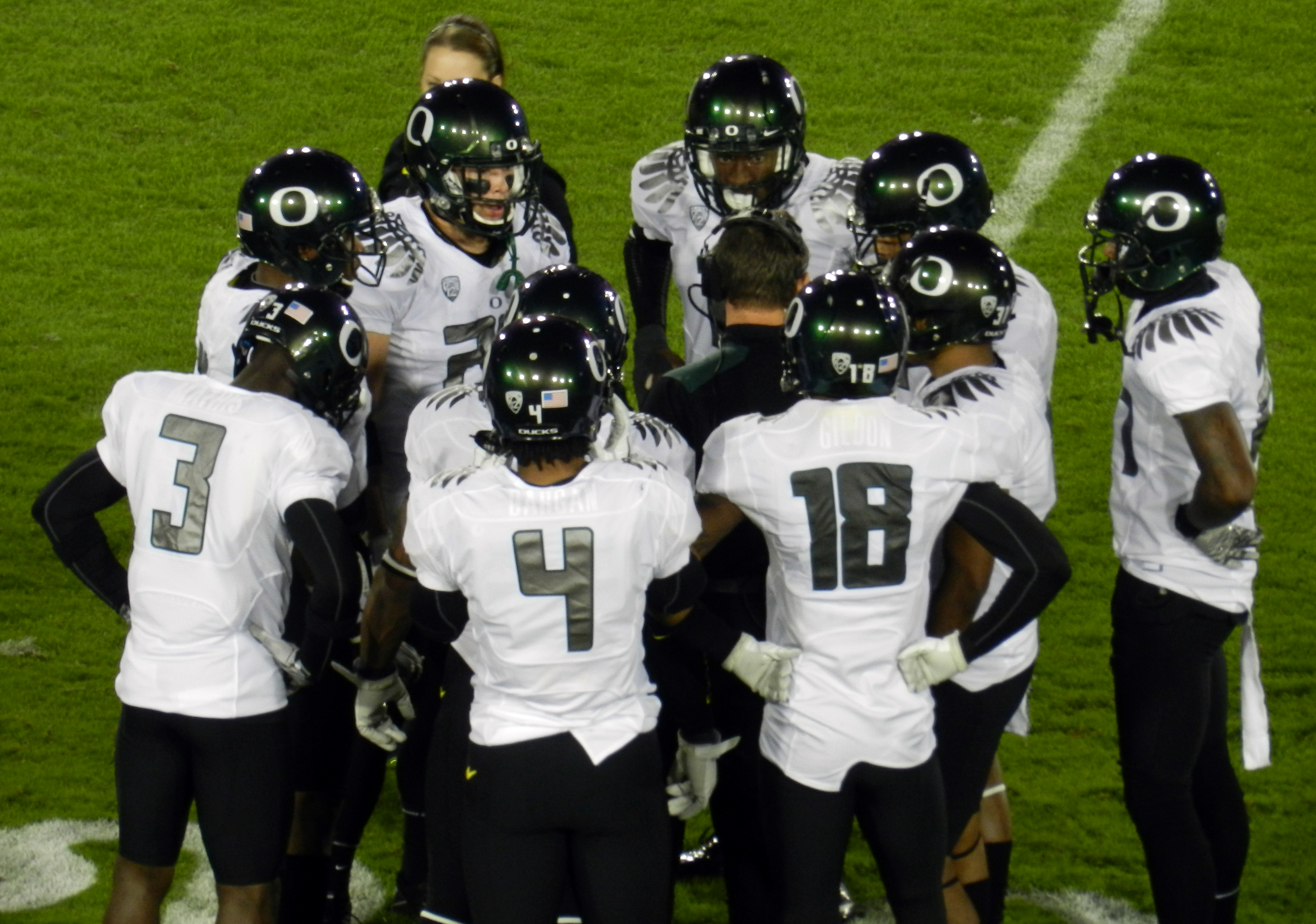 The University of Oregon football team doesn't deserve to be punished more severely. (Daniel Hartwig, Wikimedia Commons)