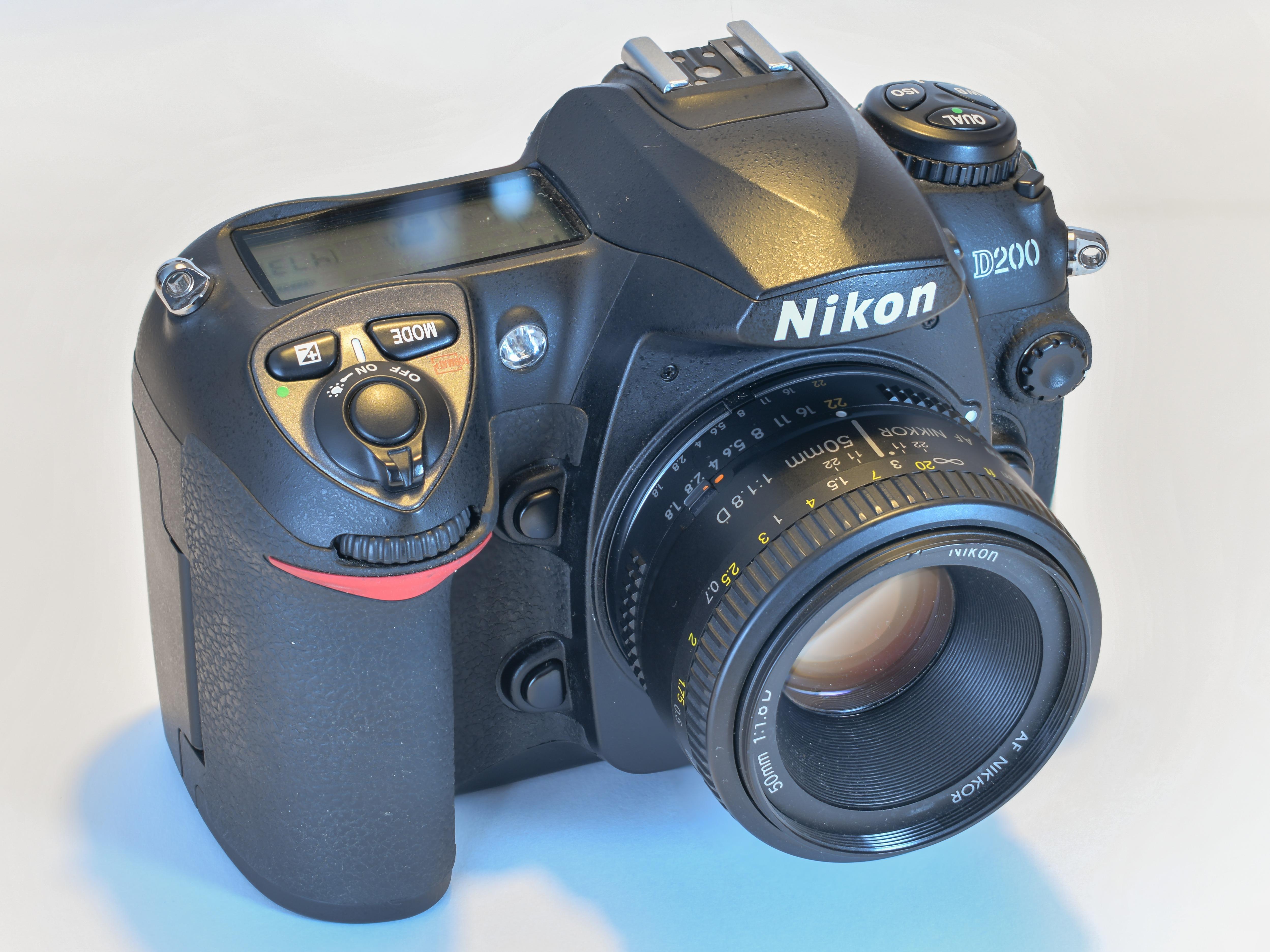 Nikon D200 Wikipédia