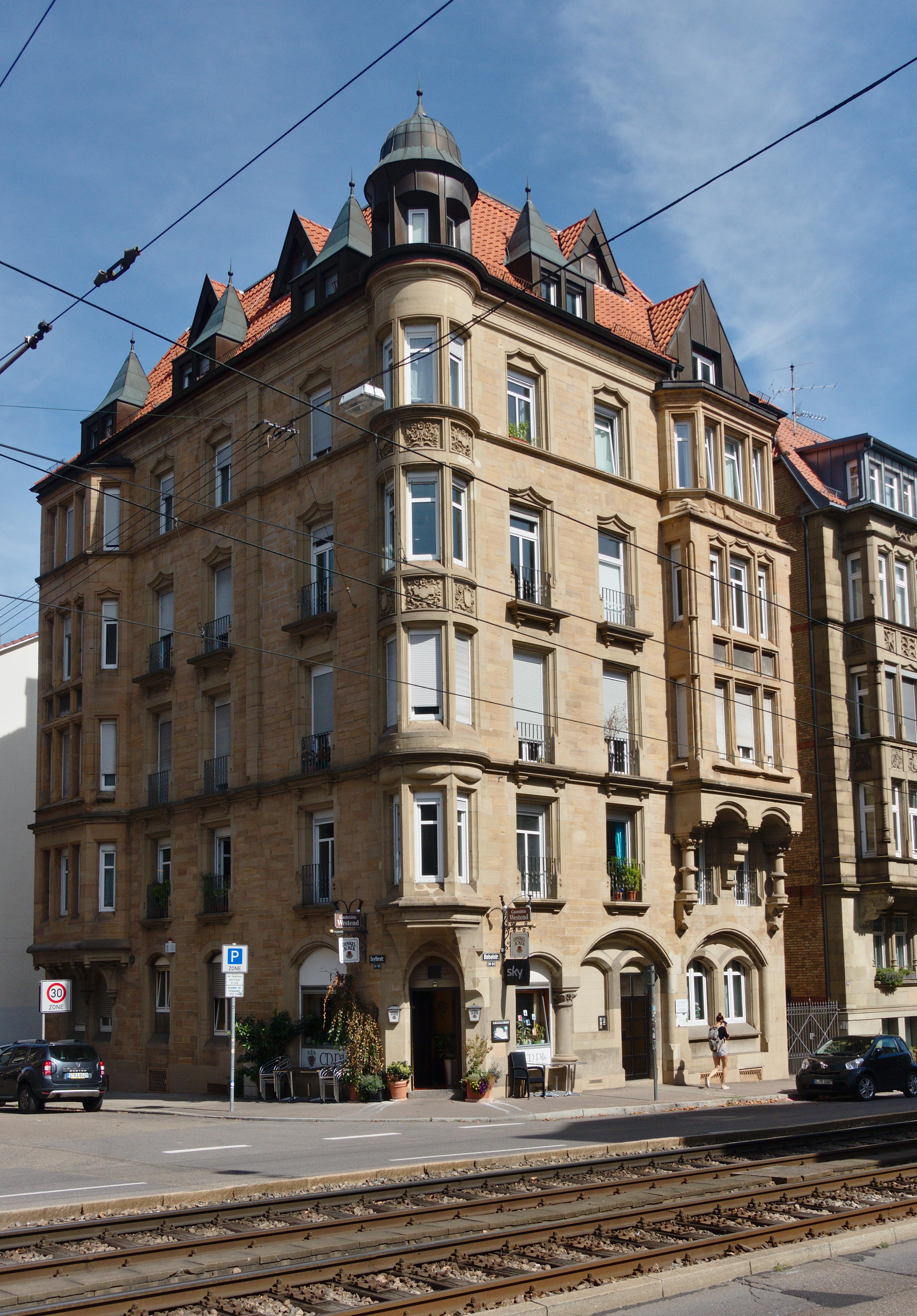 Bücherei Stuttgart West