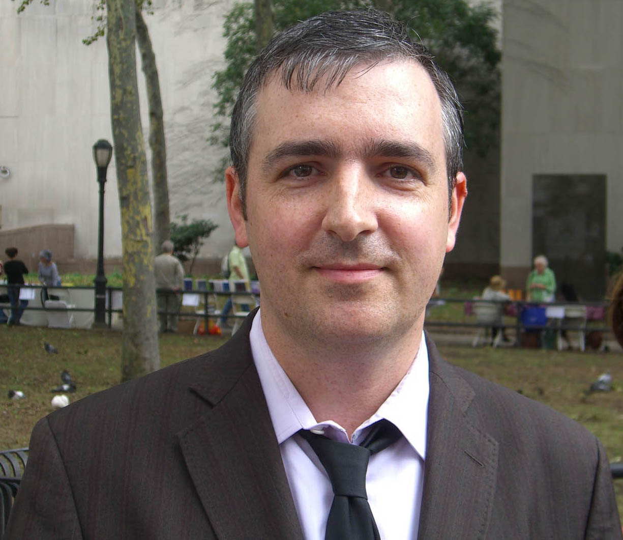 Madden at the 2009 [[Brooklyn Book Festival]]