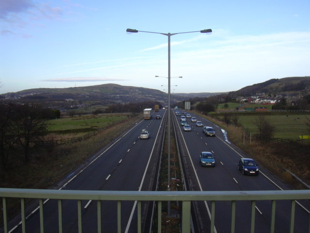 A56 Edenfield Bypass looking North - geograph.org.uk - 1124499