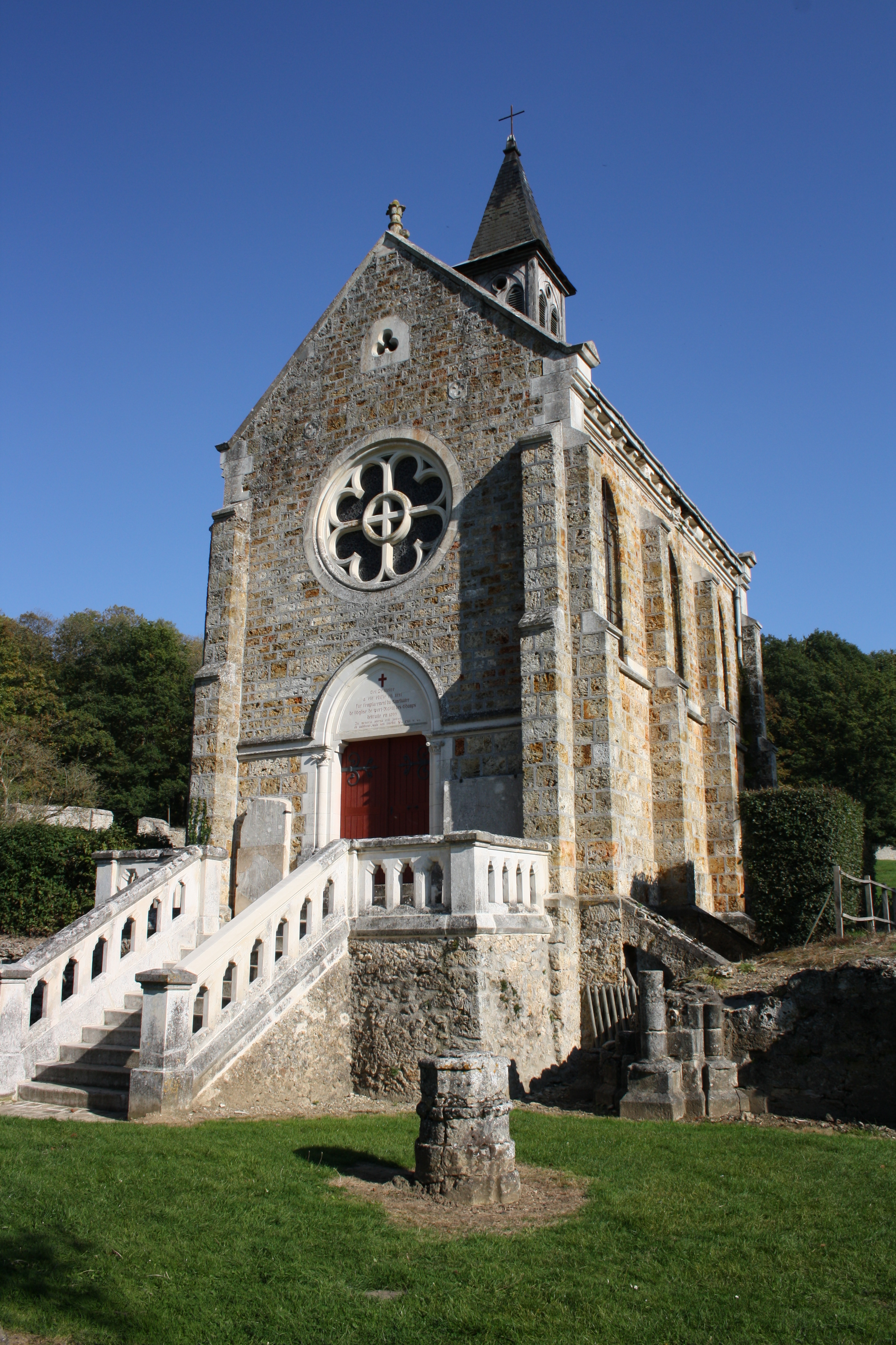 File Abbaye De Port Royal Des Champs En Octobre 2011 49 Jpg