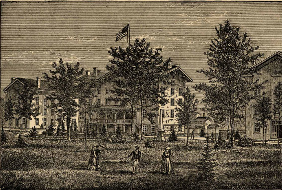 1861 : Albion College Authorized