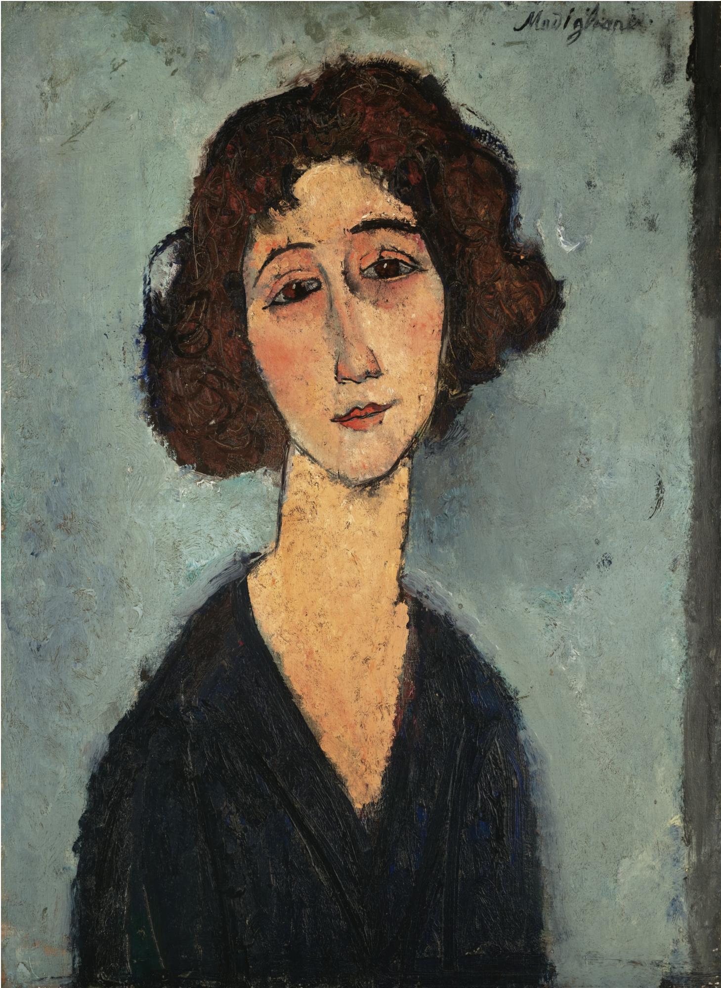 Favori File:Amedeo Modigliani - Jeune Femme.jpg - Wikimedia Commons BA24
