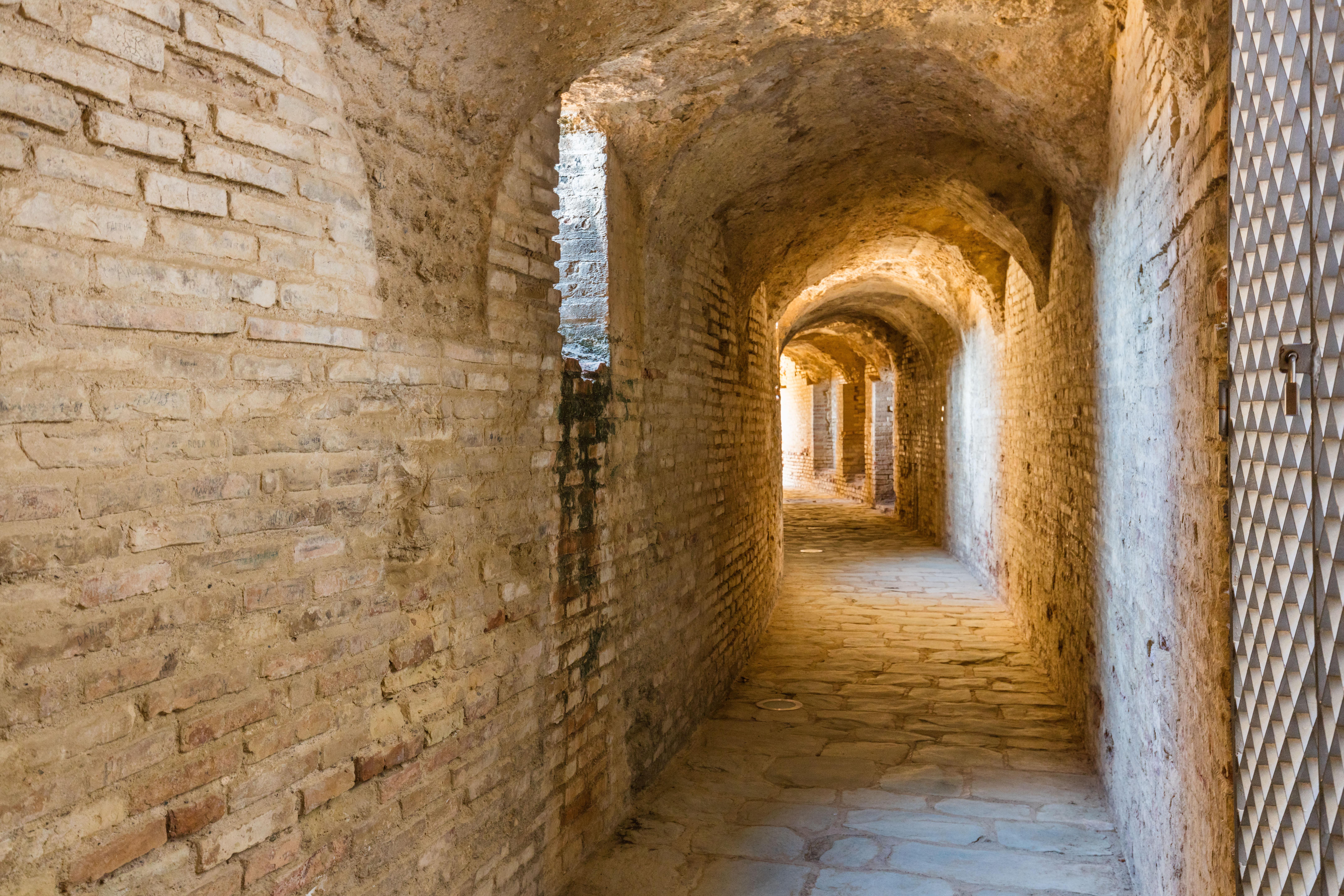 Anfiteatro de las ruinas romanas de Itálica, Santiponce, Sevilla, España, 2015-12-06, DD 09.JPG