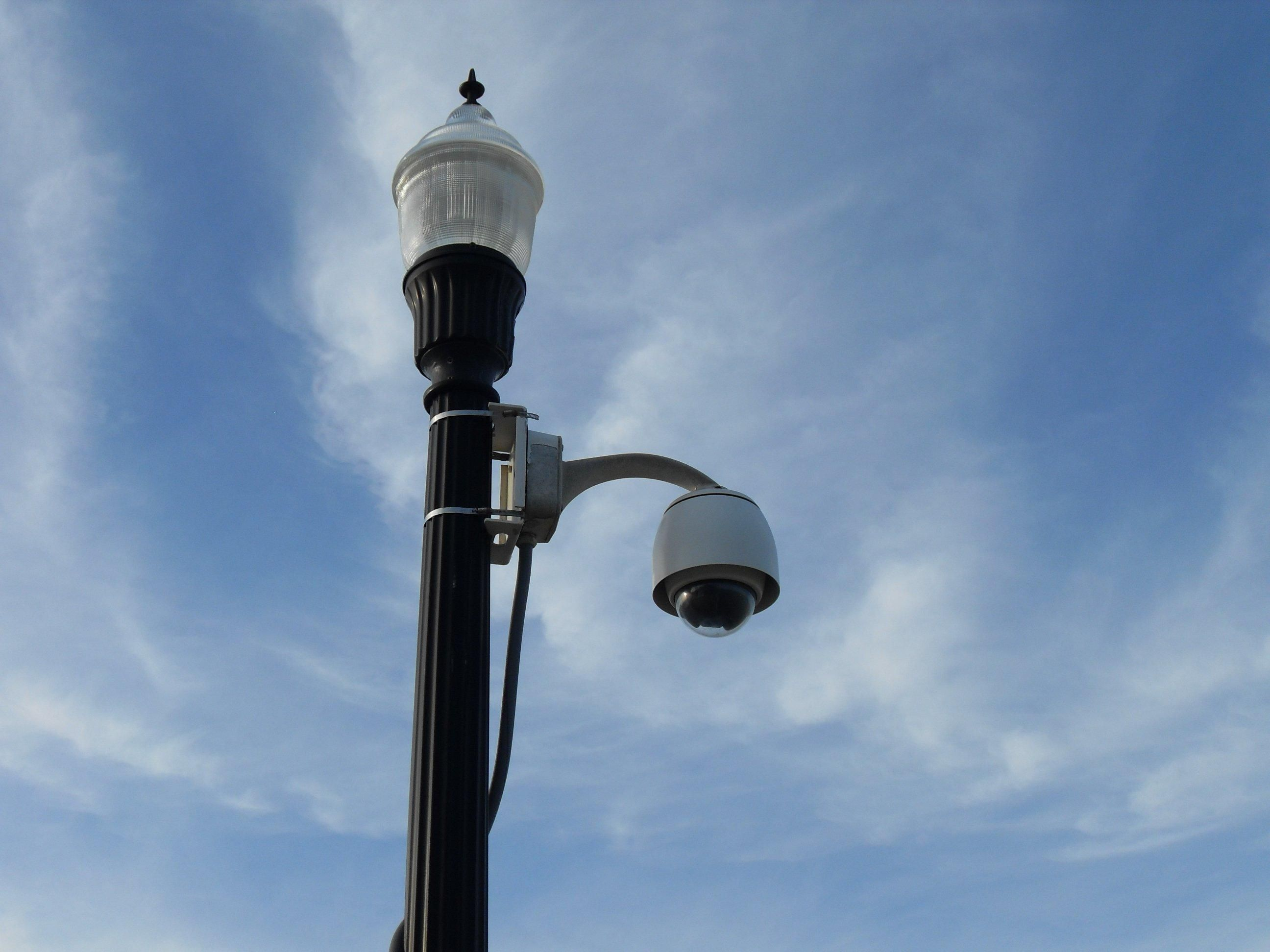 File:Antique Street Lamp Iron Lamp