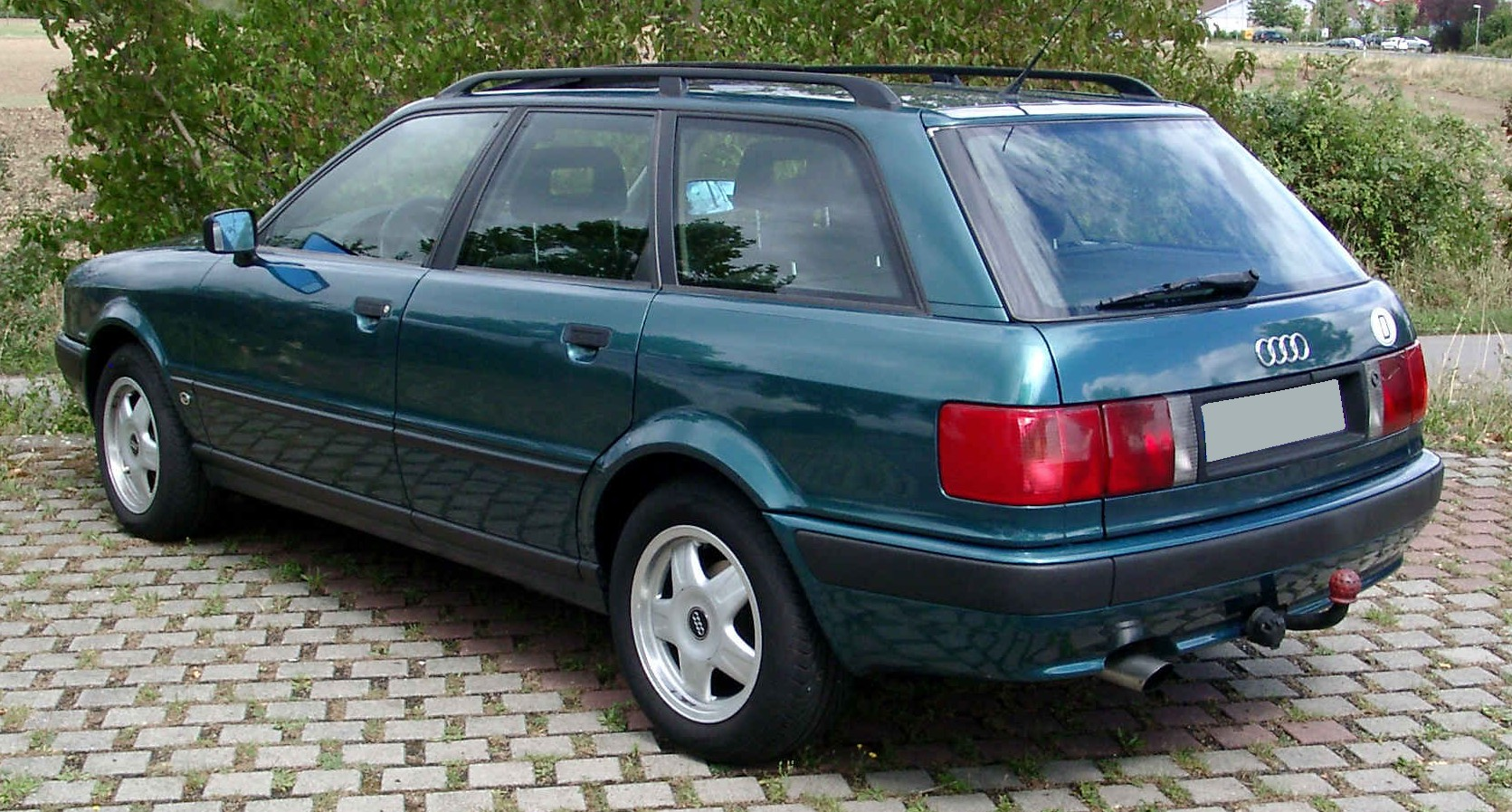 File Audi 80 Avant Rear 20080820 Jpg Wikimedia Commons