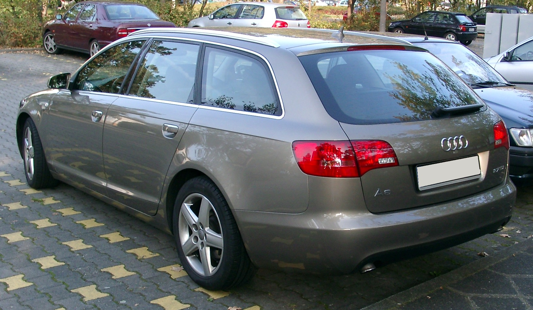 File Audi A6 Kombi Rear 20071011 Jpg Wikimedia Commons