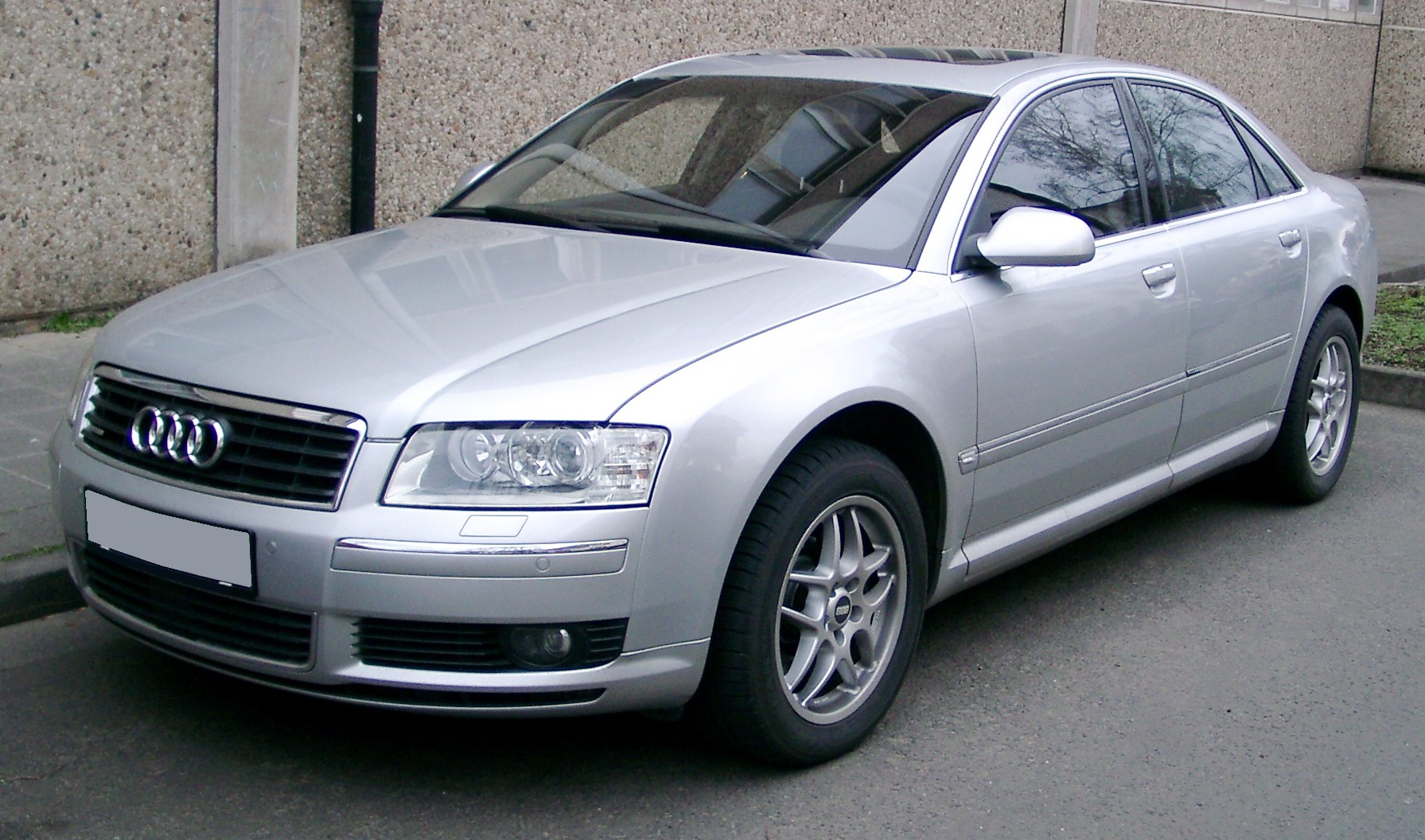 File Audi A8 Front 20080121 Jpg Wikimedia Commons